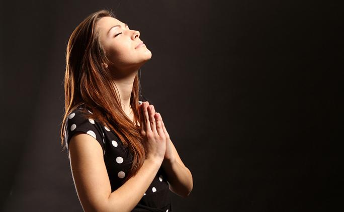 pray-girl-sermon