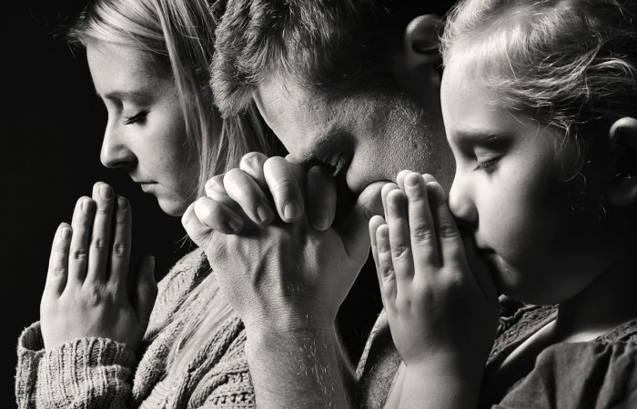 Pray for God to satisfy your hearth